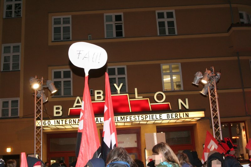 Demonstration am 20. Feb. 2010 (Foto: O.Wolters)